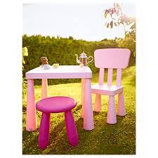 mammut children u0027s chair in outdoor light pink ikea