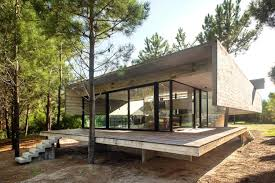 s j house house built entirely out of exposed concrete with