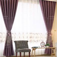 Purple Curtains For Living Room Coffee Damask Jacquard And Embroidery Vintage Velvet And Silk