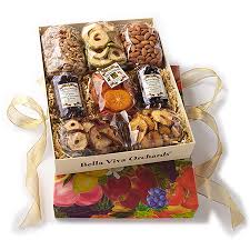 fruit and nut gift baskets organic fruits nuts chocolates