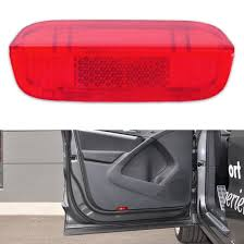 red volkswagen jetta 2009 red door panel light lense reflector 1k0947419a fit vw passat