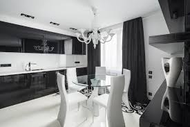 small black and white kitchen ideas small black white dining room and luxury white chandelier lighting