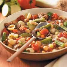 minestrone with italian sausage recipe taste of home