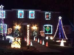 christmas light display to music near me animated christmas display in holmdel holmdel nj patch