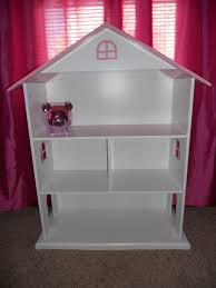 Doll House Bookcase Furniture Wooden Dollhouse Bookcase