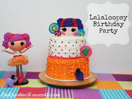 one creative housewife lalaloopsy birthday party cute ideas