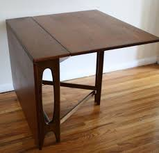 home design decorative kitchen table with fold down sides