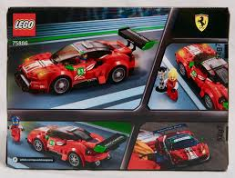 speed chions ferrari speed chions ferrari 488 gt3 75886 review by gj bricks