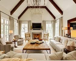 White Sofa Living Room Houzz - Living room with white sofa