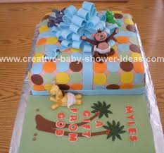 jungle baby shower cakes animal cakes photos and tips