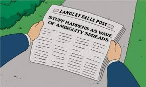 American Dad Meme - my favorite part about american dad was the newspaper headlines