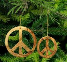 peace sign ornament door knob charm by justgivemepeace