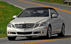 2011 mercedes benz e350 cabriolet editors u0027 notebook review