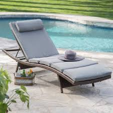 Pool Chaise Coral Coast Sola All Weather Wicker Adjustable Chaise Lounge Set