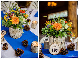 Pine Cone Wedding Table Decorations Blog Denver Wedding Photographer Rustic Romantic Colorado
