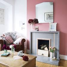 red color schemes for living rooms bright living room with colourful chimney breast colour schemes