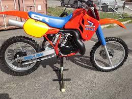honda cr 500 honda cr500 1985 vintage