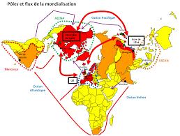 siege de l omc pôles et flux de la mondialisation croquis en épreuve mineure j