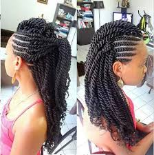 mwahahwk hairstule done using kinky 19 fabulous kinky twists hairstyles mohawks hair style and natural