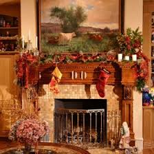 ideas feasible themed fireplace mantel decorating