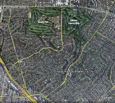 Google Maps Los Angeles by Google Map Aerial View Of Cheviot Hills 90064