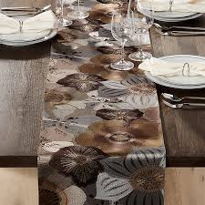 crate and barrel table runner crate barrel ashlyn embroidered table runner placemat and house