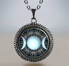 spiritual jewelry goddess necklace moon jewelry goddess jewelry moon