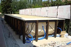rivestimento in legno per piscine fuori terra piscine fuori terra avec esterne e rialzate castiglione et