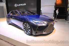 lexus lf sedan book of lexus lf fc concept walkaround 2015 tokyo motor show in