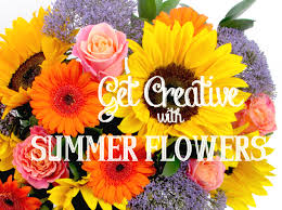 get creative with summer flowersflower press