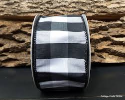 black and white wired ribbon 43 best cottage co ribbon by the roll images on