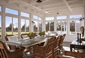 Coastal Dining Room Furniture Beach House Tour Classic Hamptons Beach House