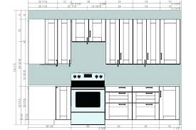 what is standard height for kitchen cabinets kitchen cabinet height