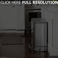 stainless steel kitchen garbage cans design ideas decors large