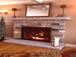 veneer stone fireplace ideas home decoration