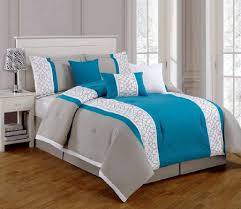 Teal And Grey Bedding Sets Pin By Davis On Bedroom Options Pinterest Linen