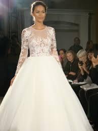 dennis basso wedding dresses dennis basso high neck sleeve gown real brides
