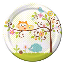 baby plates 8 count paper dinner plates happi tree sweet
