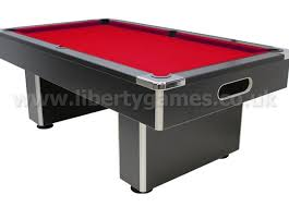 7 Foot Pool Table Pro American Deluxe 6 Foot Pool Table With Red Cloth Gentlemint