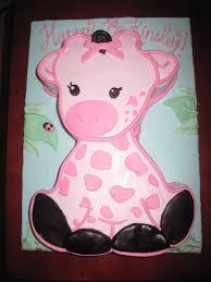 Baby Shower Pink Giraffe Theme Baby Shower Decoration