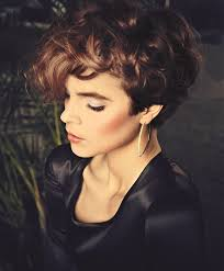 short curly hairstyles above the ear really really short above the ears hair pinterest shorts