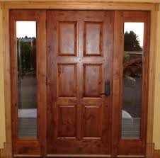 wooden front door with glass panels front doors wood and wrought iron better home front doors wood