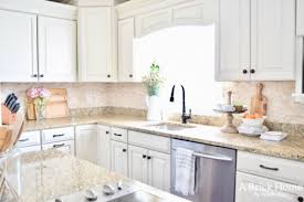 home decor kitchen ideas fresh cheerful spring kitchen tour a brick home
