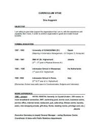 Resume Objective Sample For It by 5 Basic Sample Resume Objective Resume Examples Templates Top 10