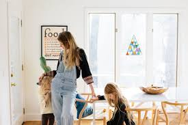 Denim Days Home Interior by Cozy Days At Home With James Kicinski Mccoy Dôen