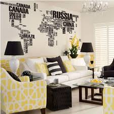 Livingroom World by Amazon Com World Map In Country Names Vinyl Wall Decal For Living