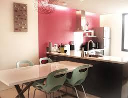 le coin cuisine comment séparer le coin cuisine du coin salon grâce à la couleur