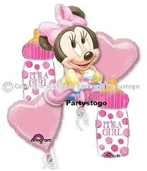 minnie mouse party supplies minnie mouse baby shower balloons bouquet decorations