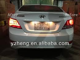 hyundai accent lights hyundai accent light bar l rear light 2011 up