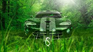 Dodge Viper Green - dodge viper fantasy snake car 2013 el tony